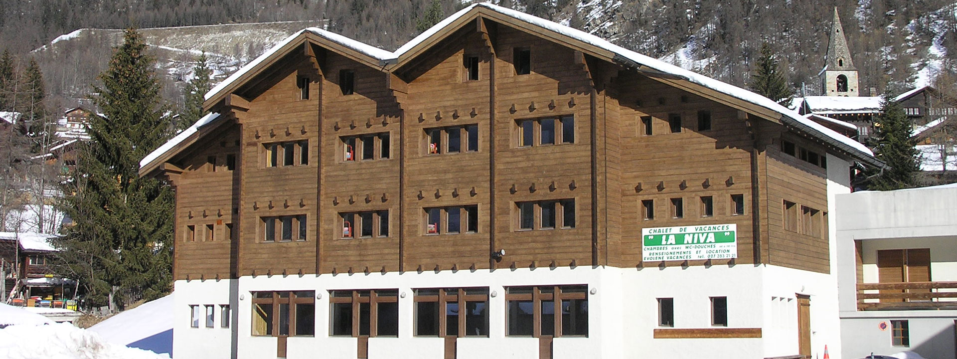 Chalets à louer en Valais