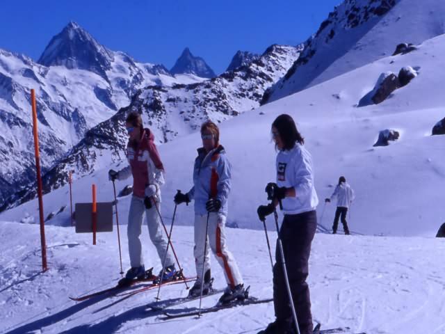 Ski de piste à Arolla