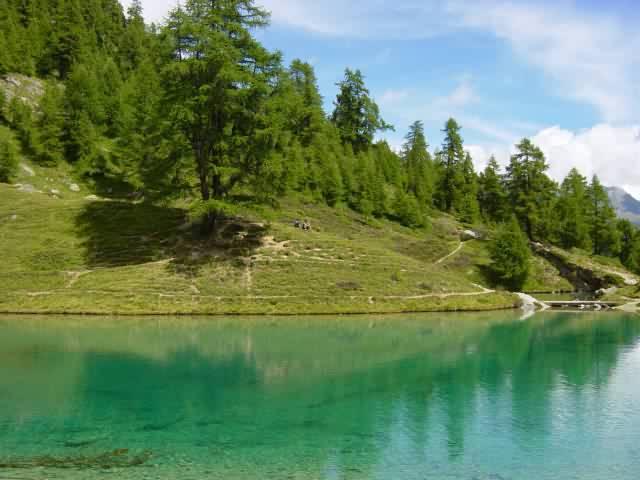 Le Lac Bleu à la Gouille