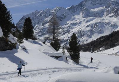 Notre domaine de ski nordique