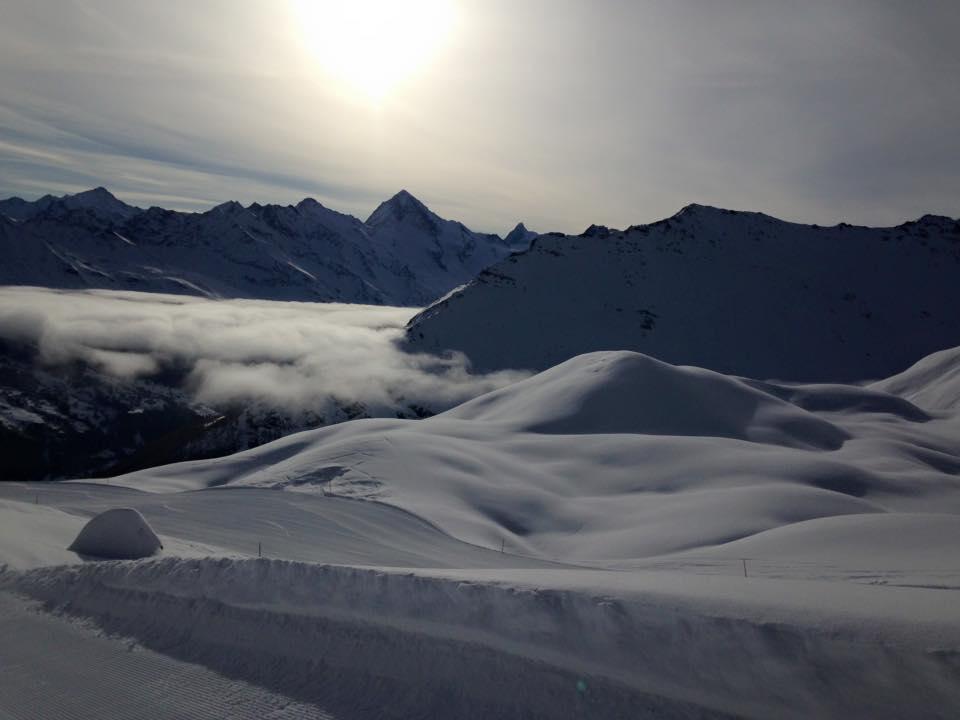 Ski alpin à l'Espace Dent Blanche