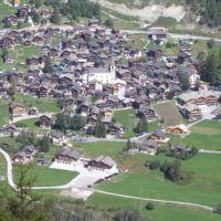 Chalet La Niva, vue aérienne