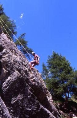Escalade dans le Val d'Hérens